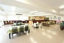 クラウド御殿山の管理棟内休憩室