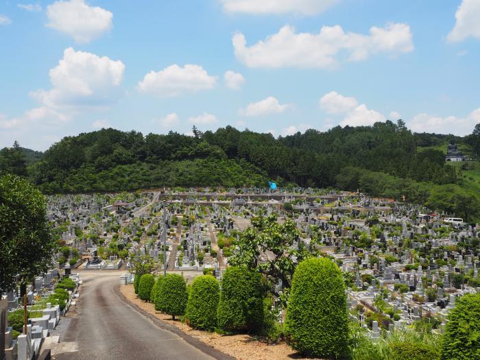 秋川霊園園内